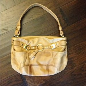 B. Makowsky leather handbag
